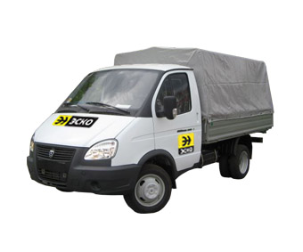 Gazelle GAS-330232-288 (vehicle with a tent) cargo
