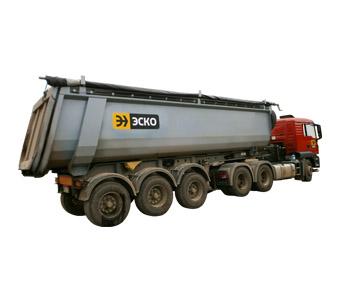 Semitrailer-tipper Grunwald 9539-0000070-10